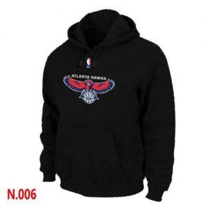 NBA Atlanta Hawks Pullover Hoodie Black